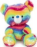 GUND Kai Rainbow Plush Stuffed Animal Teddy Bear, 12