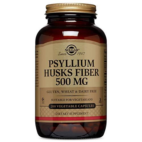 Solgar Fibra de cáscaras de Psyllium 500 mg Cápsulas vegetales - Envase...
