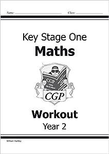 KS1 Maths Workout - Year 2 (CGP KS1 Maths) by Coordination Group Publications Ltd (CGP)