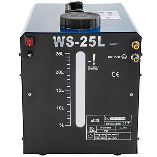 Frantools 370W WIG Wasserkühler Schweißgerät 25L Wassertank