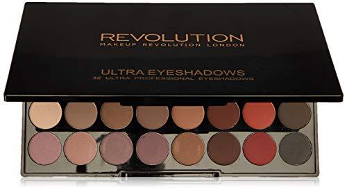 MAKEUP REVOLUTION Ultra 32 Shade Eyeshadow Palette Flawless Matte 2, 20 g