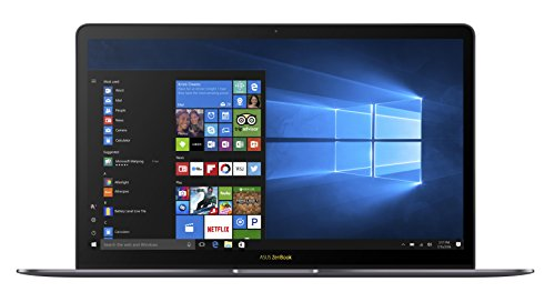 ASUS ZenBook 3 Deluxe UX490 / 3490 (90NB0EI3-M02910) 35,6 cm (14 Zoll, Full-HD) Ultrabook (Intel Core i7-7500U, 16GB RAM, 512GB SSD, Intel HD Graphics, Windows 10 Pure) Quartz Grau