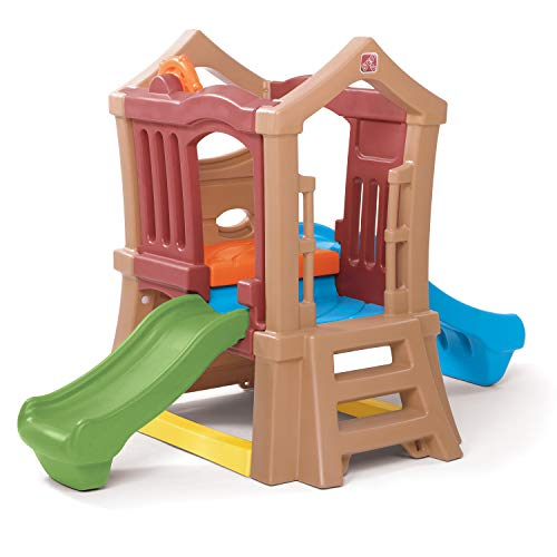 Step2 Play Up Double Slide Kids Climber