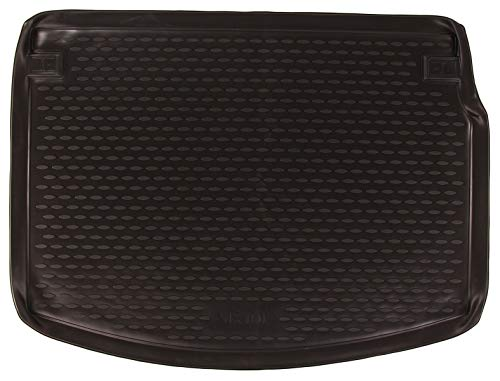 SIXTOL Auto Kofferraumschutz für den Renault Megane Coupe, 03/2010-2015 - Maßgeschneiderte antirutsch Kofferraumwanne für den sicheren Transport von Einkauf, Gepäck und Haustier