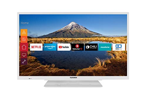 Telefunken XH32G511-W 81 cm (32 Zoll) Fernseher (HD ready, Triple Tuner, Smart TV, Prime Video)