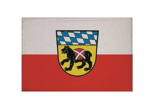 U24 Aufnäher Freising Fahne Flagge Aufbügler Patch 9 x 6 cm