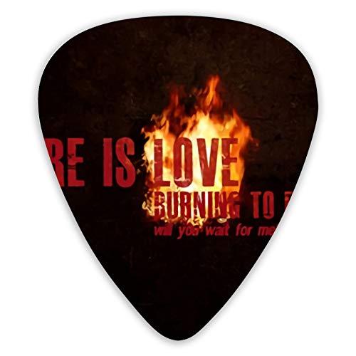 Killswitch Engage Gitarrenplektren, verschiedene Akkorde, geeignet für elektrische und akustische Gitarren, 12 Stück