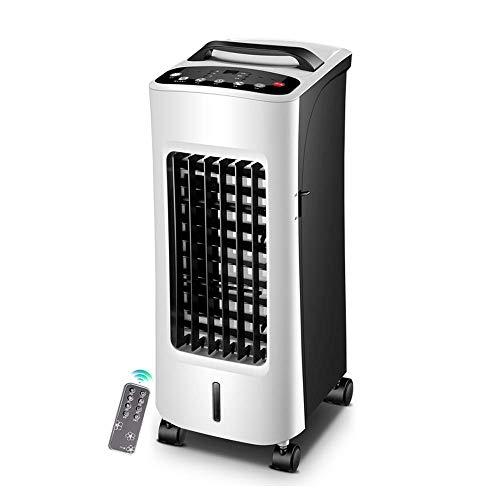 QTCD Ventiladores Aire Acondicionado Calefacción y refrigeración De Doble Uso Silencioso Hogar Que Ahorra energía Enfriador de Aire Aire Acondicionado pequeño Inteligente