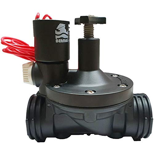 Bermad Electroválvula 1  24V con regulador de caudal Serie 200
