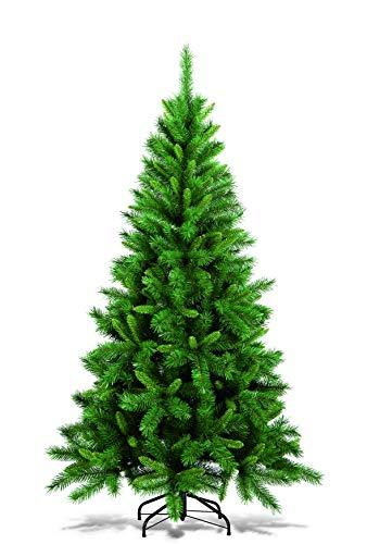 """DMORA Albero di Natale """"Livigno"""", Altezza 120 cm, 166 rami atossici, verde, 60 x 60 x 120 cm"""