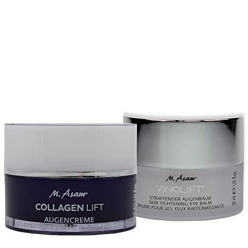 M. Asam® Collagen Lift Augencreme 30ml + Vinolift® Straffender Augenbalm 30ml