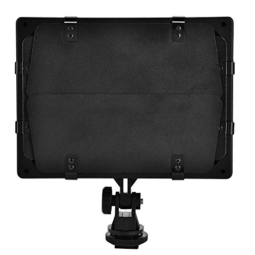 HaiQianXin W160 Video Photography Light Lamp Panel 6000K LED für DSLR-Kamera DV-Camcorder