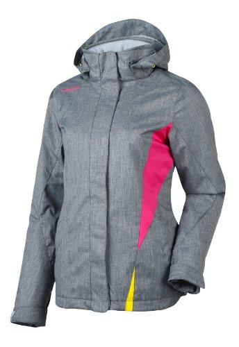 Ziener Damen Jacke Tilac Women's (Jacket Ski), Grey Melange, 46, 134101