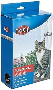 Trixie Filet de Protection Transparent pour Chat, 6 × 3 m