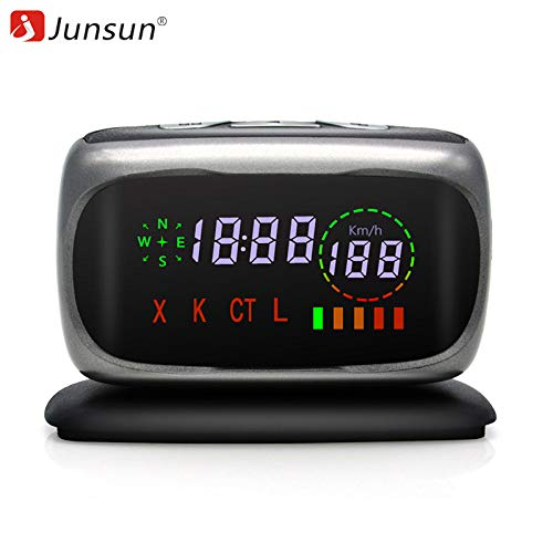 Fantastic Deal! China, No TF Card : Junsun Car Radar Detectors 2 in 1 Police Speed GPS for Russian L...