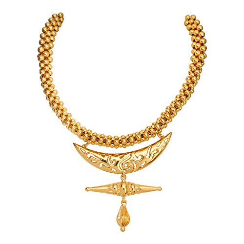 WHP Jewellers 22k (916) Yellow Gold Choker Necklace