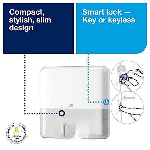 Tork Xpress Multifold Mini Hand Towel Dispenser 552100 - H2 Paper Towel...