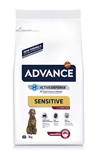 ADVANCE Sensitive Medium/Maxi - Pienso Para Perros Adultos De Razas Medianas y Grandes Con Cordero - 3 kg