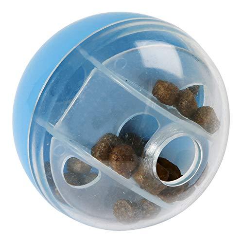 Kerbl Snackball für Katzen und Nager, Denkspielzeug Lernspielzeug Beschäftigung