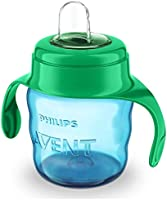 Philips Avent SCF551/05 Spout Cup, 200 ml, Green and Blue, 6+ Months