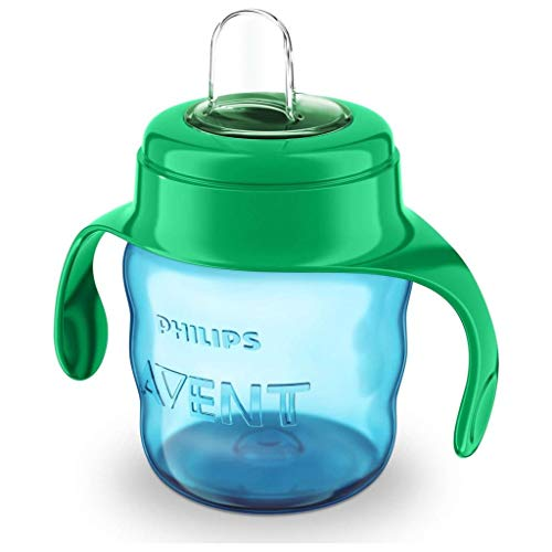 Philips Avent Classic Soft Spout Cup 200ml (Green/Blue)