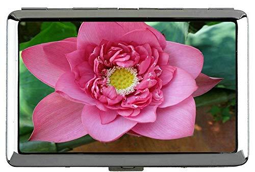 Yanteng Indian Lotus Flower Leaves Zigarettenetui-Blumen-Tasche mit Zigarettenschachtel