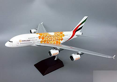 GeminiJets Emirates Airlines Expo 2020 DUBAIUAE Airbus A380-800 A6-EOU 1/200 diecast Plane Model Aircraft