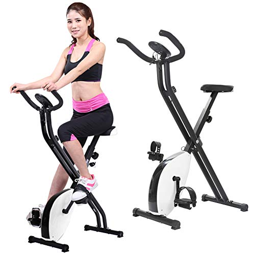 Fantastic Prices! YIFAN Folding Exercise Bike Magnetic Control Type X- Bike with Heart Rate Professi...