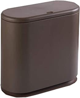 Madcg M/ülltonne Haushalt Trocken Color : Blue und Nassm/üll Classification Barrel K/üche Wohnzimmer M/üll Lagerung Barrel Badezimmer Kunststoff Abfalleimer 10L