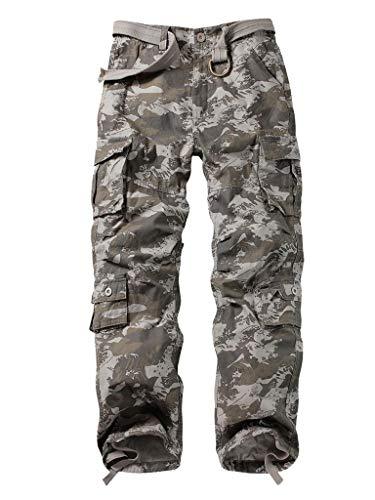 Pantalones cargo de trabajo para hombre con 8 bolsillos, de MUST WAY