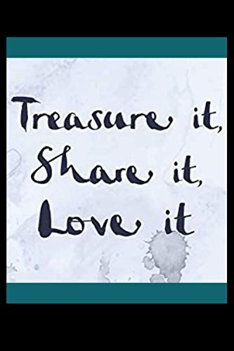 Treasure it, Share it, Love it Charlie Mackesy Journal for Men and Women: Treasure it, Share it, Love it Charlie Mackesy Journal to Write In with ... Mackesy gift, Composition Notebook, sm