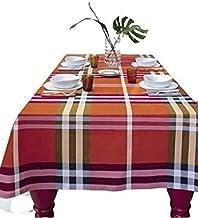 Rechthoekig tafelkleed van katoen voor 8 pleinen Bossi 150 x 220 Var.1365 zonder servetten