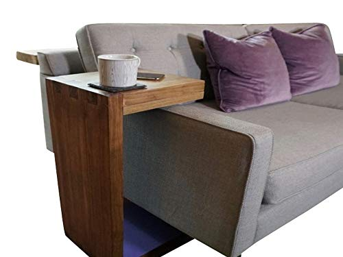 C Shape Side Table Plans DIY Couch Sofa Over Arm Stand End Table Magazine Rack