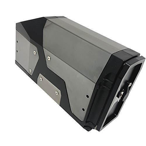 YHSM Caja De Herramientas Soporte Lateral Izquierdo Y Derecho Caja Impermeable De Aluminio para B-MW R1200GS LC R 1200 GS ADV Adventure R1250GS GSA F750GS F850GS Motos