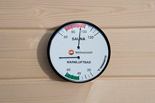 Weka Sauna Doppelthermometer
