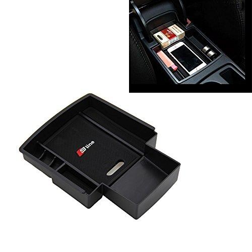 Edelstahl Pedalkappen für A4 B8 S4 RS4 A5 S5 RS5 Q3 Q5 8R SQ5 A6 S6 C7 A7 S7 A8 S8 A8L Fußstütze Bremsen Gaspedal Pedale (A4 B8 A5 S5 Armlehnenbox)