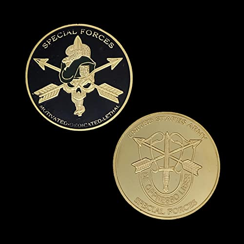 United States Army Special Forces Challenge Coin USA Green Berets Liberty Freedom Coin Collection