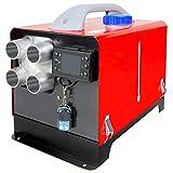 MZY Calentador de Aire Disel,5KW Calefaccin Estacionaria 12 V Disel Porttil, Calentador de Estacionamiento Disel Calefaccin Esttica Furgoneta Disel Calentador Coche con Pantalla LCD