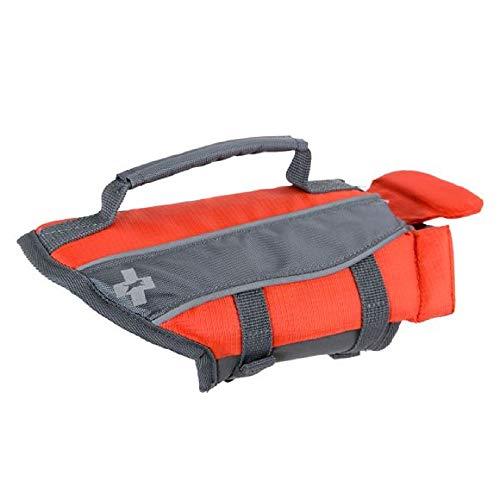 Top Paws Adjustable Reflective Life Jacket Dog Water Flotation Vest Various Sizes (Extra Large (85-100))