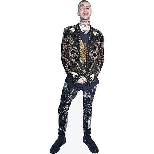 Celebrity Cutouts Lil Peep (Jacket) Pappaufsteller lebensgross
