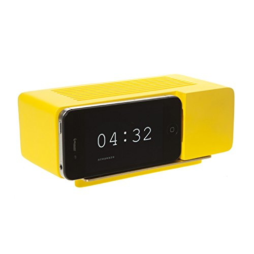 Areaware Alarm Dock Docking Station iPhone 4/4S geel