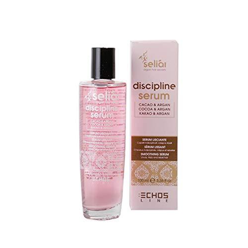 Echosline Seliàr Disciplina Serum Alisador Anti-Frizz para cabellos encrespados y rebeldes-100 ml, Multicolor, 100mL, 100