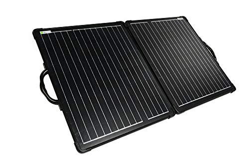 WATTSTUNDE Solarkoffer Ultra Light mit MPPT Laderegler - Mobile Solaranlage in Leichtbauweise 100W