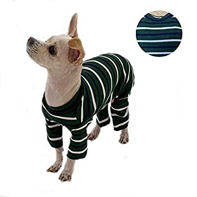 Amazon - Save 5%: Lucky Petter Pet Clothes for Dog Cat Puppy Basic Pajamas Durable and Elas…