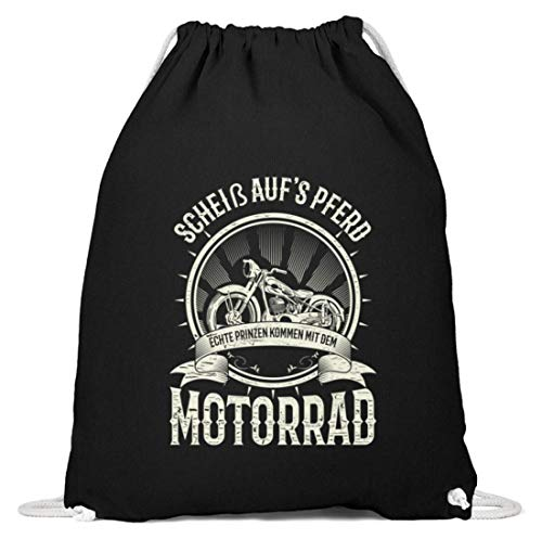 Chorchester Ideaal voor alle liefhebbers van motorfiets - katoen gymzak