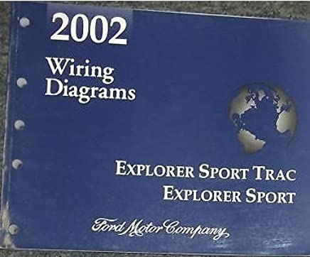 2002 FORD EXPLORER SPORT TRAC Electrical Wiring Diagrams ...  Ford Explorer Sport Wiring Diagram on