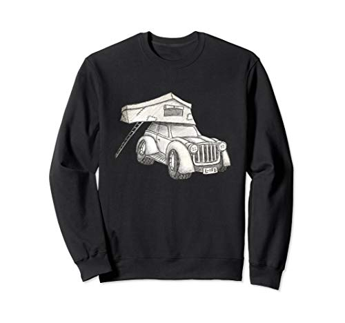 Rooftop Tent | Tiny Homes | Offroad Truck Camping Sweatshirt