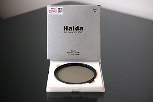 Haida Pro II Digital Slim Polfilter Zirkular MC (multicoating) - 82mm - inkl. Cap mit Innengriff