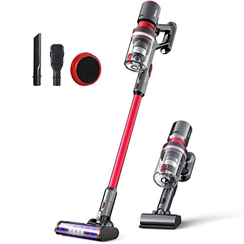 Find Cheap Dibea 25KPa Powerful Suction Cordless Stick Vacuum Cleaner Quiet Lightweight Multi-Functi...