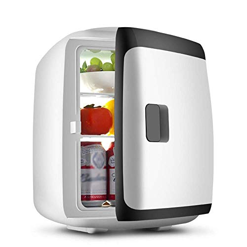 Refrigeradores de bebidas L MINI FRIGERADOR 13L Portátil Silencioso Ahorro de energía Enfriador termoeléctrico y calentador Mini refrigerador para dormitorio, oficina o dormitor (color: azul) jianyou